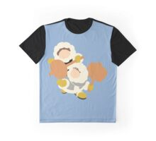 Smash Bros - Ice Climbers Yellow Gloves Graphic T-Shirt