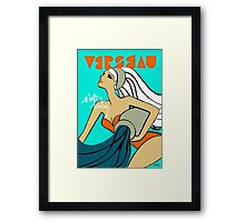 The Horoscope Series - Aquarius Framed Print