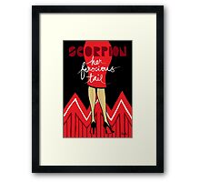 The Horoscope Series - Scorpio Framed Print