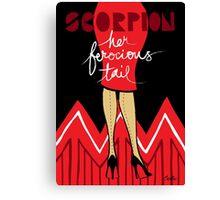 The Horoscope Series - Scorpio Canvas Print