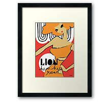 The Horoscope Series - Leo Framed Print