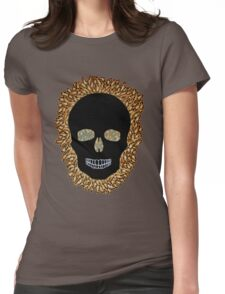 skull (nice teeth) Womens Fitted T-Shirt