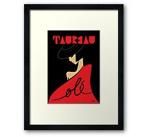 The Horoscope Series - Taurus Framed Print