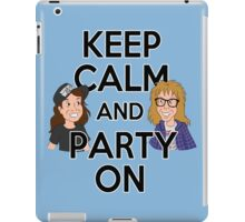Keep Calm and Party On iPad Case/Skin