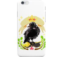Crow with Crown iPhone Case/Skin