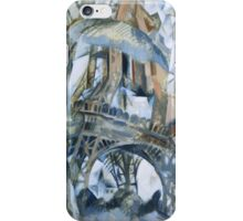 Delaunay - Eiffel Tower iPhone Case/Skin