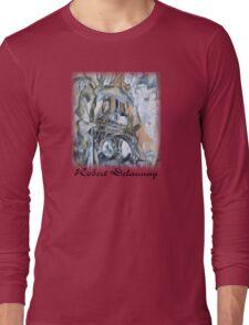 Delaunay - Eiffel Tower Long Sleeve T-Shirt