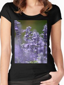 Lavender Delight Women's Fitted Scoop T-Shirt