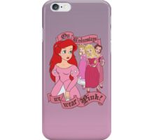 Mean Princesses iPhone Case/Skin