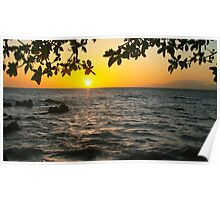 Hawaii Sunset - Maui  Poster
