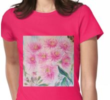 Gum Blossoms (ii) by Liz H Lovell Womens Fitted T-Shirt