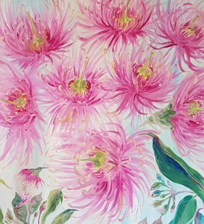 Gum Blossoms (ii) by Liz H Lovell Sticker