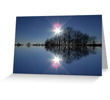 Double Bright Greeting Card