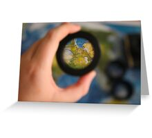 View the World Greeting Card