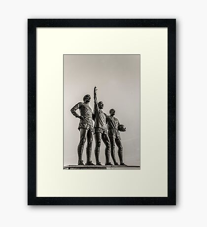 Manchester United Legends Framed Print