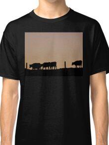 Sunrise Cows - NZ Classic T-Shirt