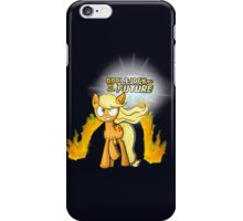 Applejack to the Future iPhone Case/Skin