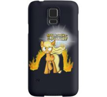 Applejack to the Future Samsung Galaxy Case/Skin