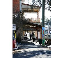 Pole Art, Castlemaine Victoria Photographic Print