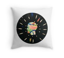 Feels like we only go backwards Throw Pillow