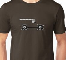 A Graphical Interpretation of the Defender 110 XD Tracked Expedition Unisex T-Shirt