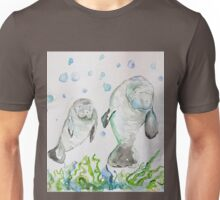 Mother Manatee and baby by Liz H Lovell Unisex T-Shirt