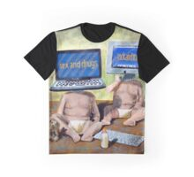 SEX DRUGS ROCK N ROLL Graphic T-Shirt