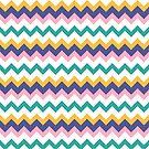 Pastel ZigZag Pattern by Greenbaby
