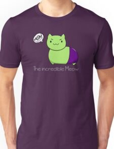 The incredible Meow  Unisex T-Shirt