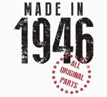 Made In 1946, All Original Parts by 4season