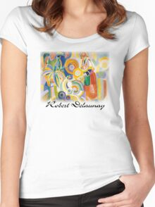 Delaunay - The Great Portuguese Women's Fitted Scoop T-Shirt