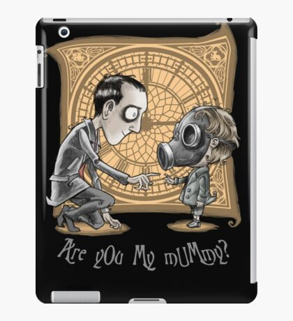 Dr.Who - Are You My Mummy ? iPad Case/Skin