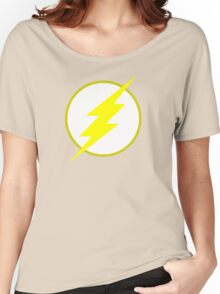 The Flash Logo Minimalist Women's Relaxed Fit T-Shirt