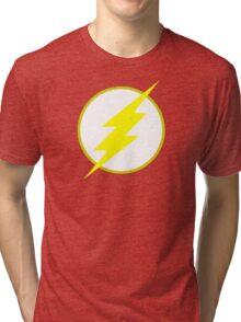 The Flash Logo Minimalist Tri-blend T-Shirt