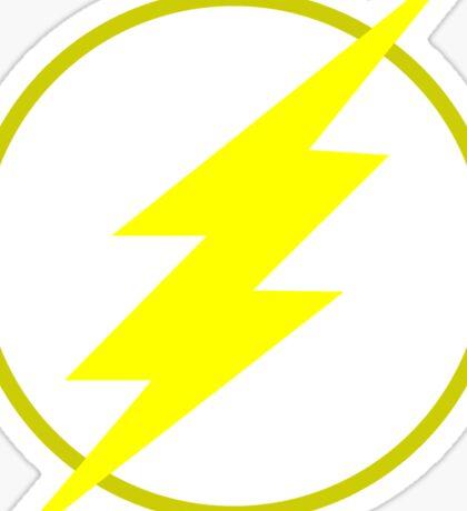 The Flash Logo Minimalist Sticker