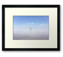 ...Empty... Framed Print