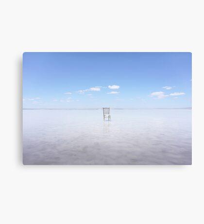 ...Empty... Canvas Print