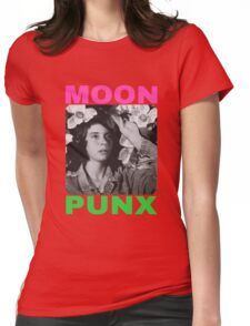 MOON PUNX Womens Fitted T-Shirt