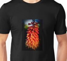 The Red Hot Poker Plant Unisex T-Shirt