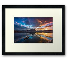 Moogerah Beauty Framed Print