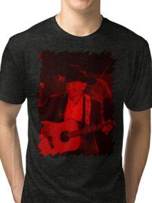 George Strait - Celebrity Tri-blend T-Shirt