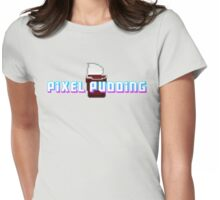 Pixel Pudding Womens Fitted T-Shirt