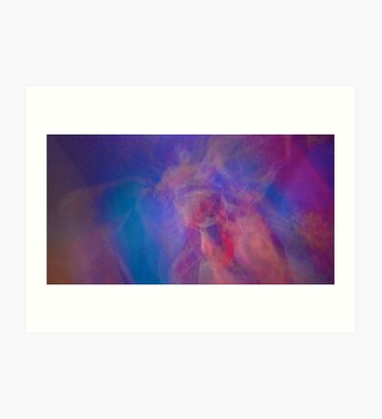 Soul Journey Kinetic Abstract Art Print
