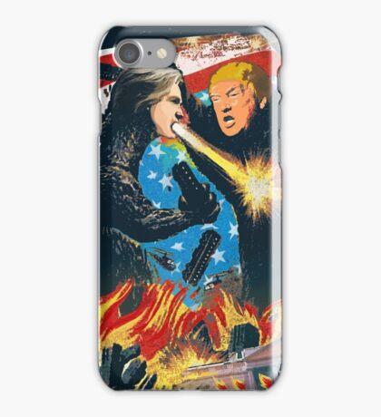 D. Trump VS H. Clinton iPhone Case/Skin