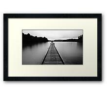 ...one... Framed Print