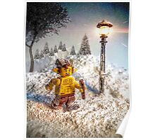 Lego Mr Tumnus (Chronicles of Narnia) Poster