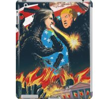 D. Trump VS H. Clinton iPad Case/Skin