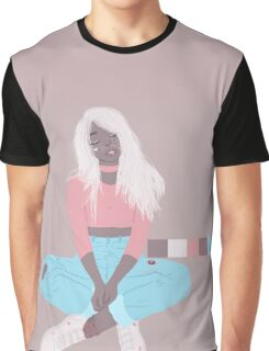 pastel blonde Graphic T-Shirt