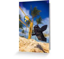 Darth Vader on vacation  Greeting Card