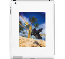 Darth Vader on vacation  iPad Case/Skin